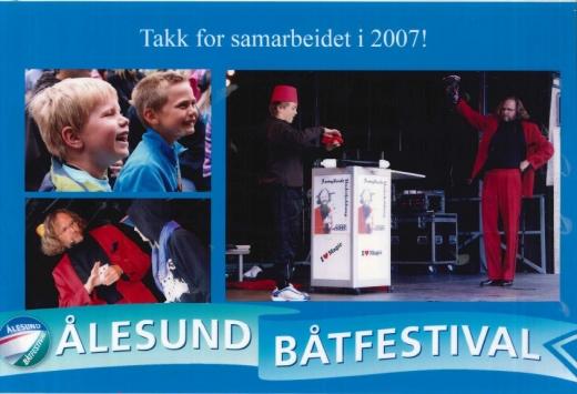 Trylling under båtfestivalen i Ålesund